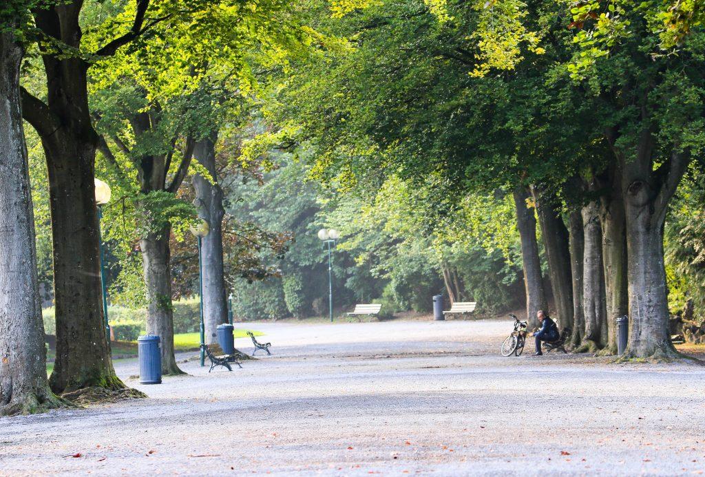 Les parcs du centre ville : la parc de 7 heures à SPA
